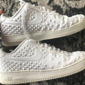 Nike Air Force One Low VT White Star Shoes US 11